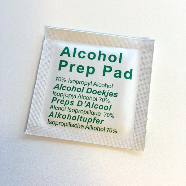 alcohol-pad